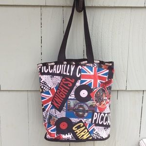 LeSportSac British Tote Bag